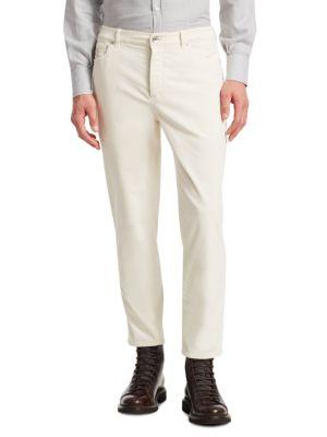Straight Leg Cord Pants