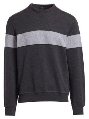 Spa Colorblock Crew Sweater