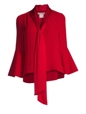 Meredith Bell-Sleeve Blouse