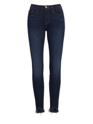 Le Skinny De Jeanne Sweetheart Hem Jeans