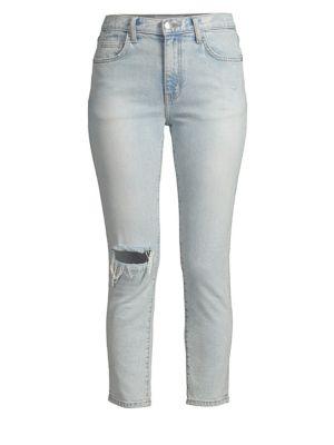 Vintage Slim Fit Cropped Jeans