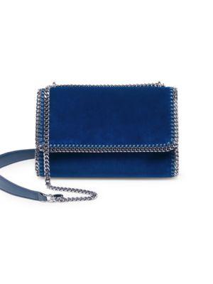 Falabella Velvet Shoulder Bag