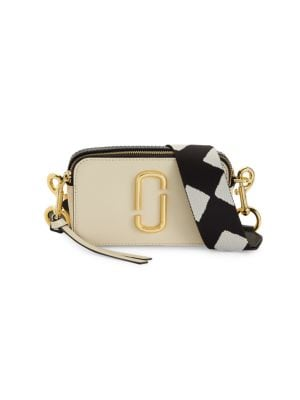 MARC JACOBS   Snapshot Leather Camera Bag   Goxip