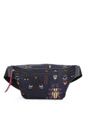 Embellished Nylon Belt Bag