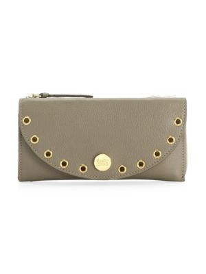 Kriss Leather Long Wallet