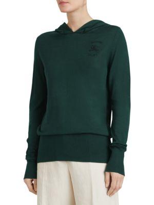 Grassey Hooded Pullover