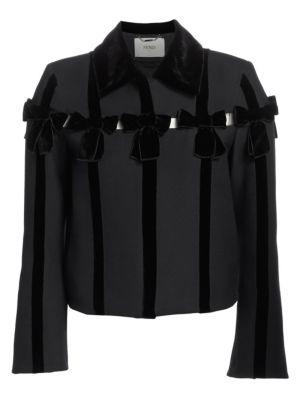 Velvet Bow Jacket