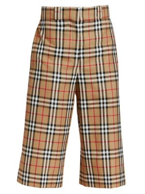 Osney Check Culottes