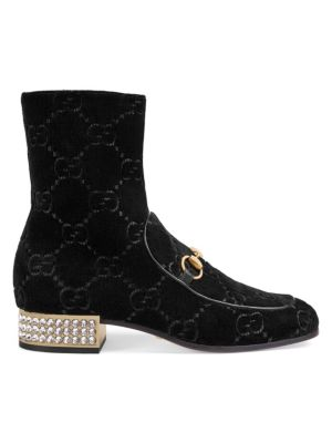 GucciMister GG Embellished Booties q2lf6AuUC