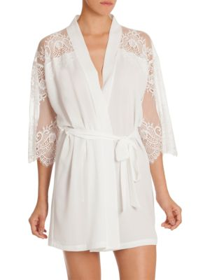 Darlin Lace-Trimmed Wrap