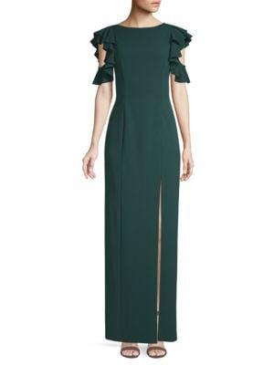 Cold Shoulder Column Dress