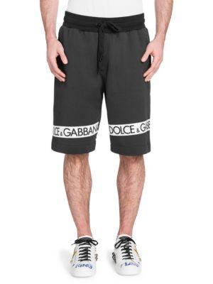 DOLCE & GABBANA Border Logo Shorts