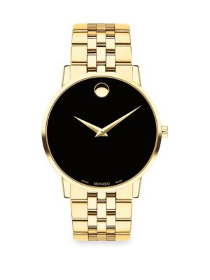 Museum Classic Goldtone Bracelet Watch
