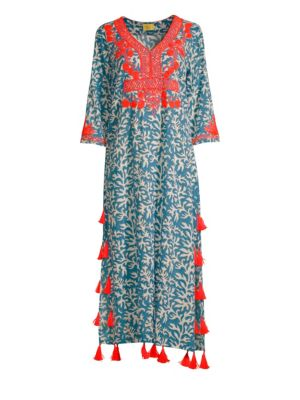 ROLLER RABBIT Reef Ruma Kaftan Dress