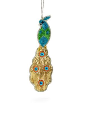Holiday 2018 Peacock Ornament