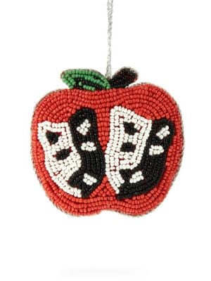 Holiday 2018 Beaded Muse In Apple Ornament