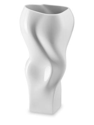 Blown Porcelain Vase