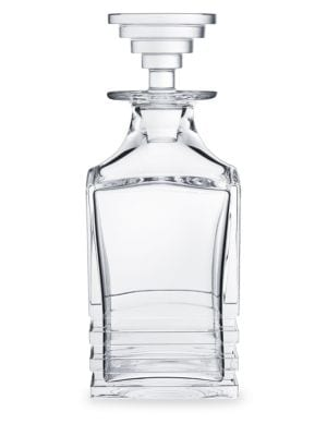 Oxymore Whiskey Crystal Square Decanter