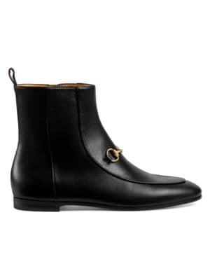 Jordaan Leather Ankle Boots