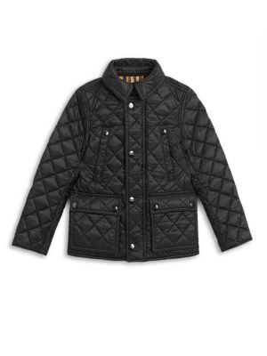 Little Boy's & Boy's Charlie Vintage Quilted Jacket