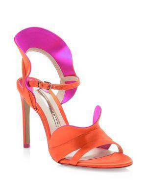 Lucia Satin Sandals