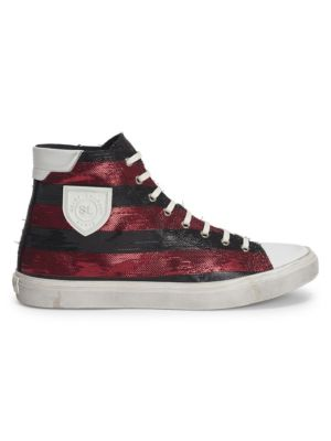 Bedford Leather High Top Sneakers