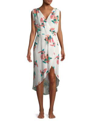 VIX BY PAULA HERMANNY Bluebell Floral Dress