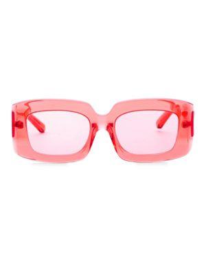 Karen Walker 51MM Rectangle Sunglasses