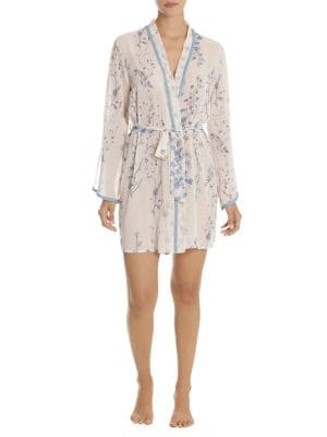 Twine Floral-Print Robe