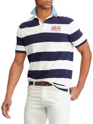Classic-Fit Striped Cotton Rugby Shirt from Saks Fifth Avenue