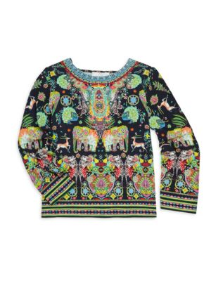 Little Girl's & Girl's Camilla Embellished Tunic