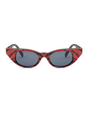 Le Specs x Adam Selman The Breaker 44MM Cat Eye Sunglasses