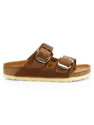 Arizona Big Buckle Leather Sandals