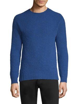 Scottish Shetland Crewneck Sweater
