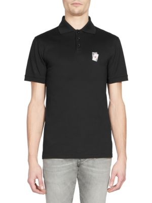 SAINT LAURENT Playing Cards Polo Shirt