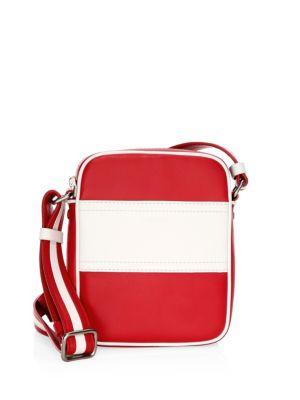 Nikki Colorblock Leather Crossbody Bag