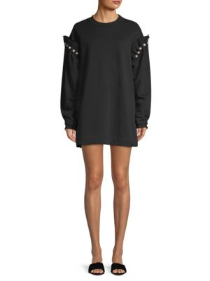 MOTHER OF PEARL Darby Pearl Sweatshirt Dress