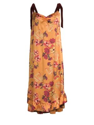 MOTHER OF PEARL Genevive Floral Dress
