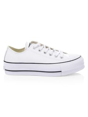 Chuck Taylor All Star Lift Leather Low-Top Sneakers