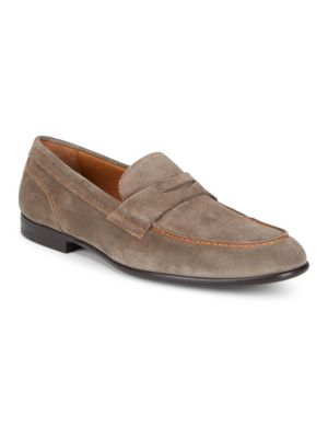 Silas Suede Loafers