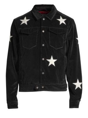 OVADIA & SONS Star Snap Front Shirt Jacket