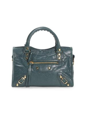 Small City Arena Leather Satchel