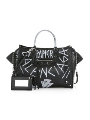 BALENCIAGA Papier Zip Bag