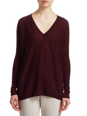 Cashmere Dolman Sleeve Pullover