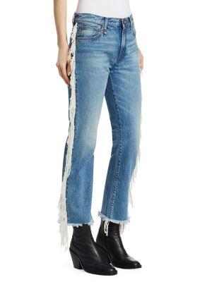 Fringe Bowie Jeans