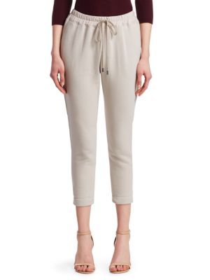 GENTRY PORTOFINO | Cotton Drawstring Sweatpants | Goxip