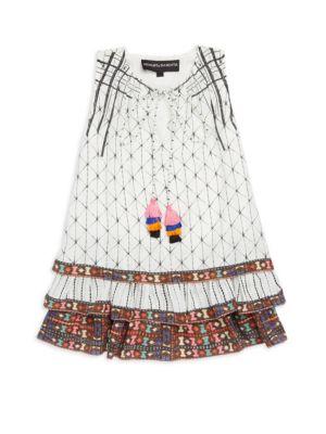 Little Girl's & Girl's Alta Silk Crepe Dress