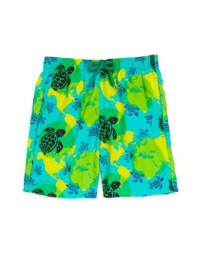 Boy's Jam Printed Swim Shorts