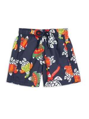 Little Boy's & Boy's Jim Print Swim Shorts