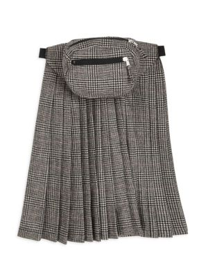 Pleated Skirt Panel Fanny Pack
